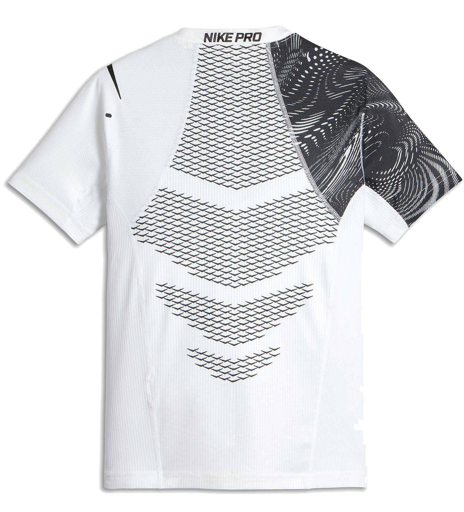 Compression t shirt nike b np hprcl top ss fttd aop for T shirt design nike