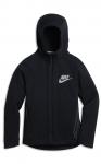 Mikina s kapucí Nike B NSW TCH FLC HOODIE FZ