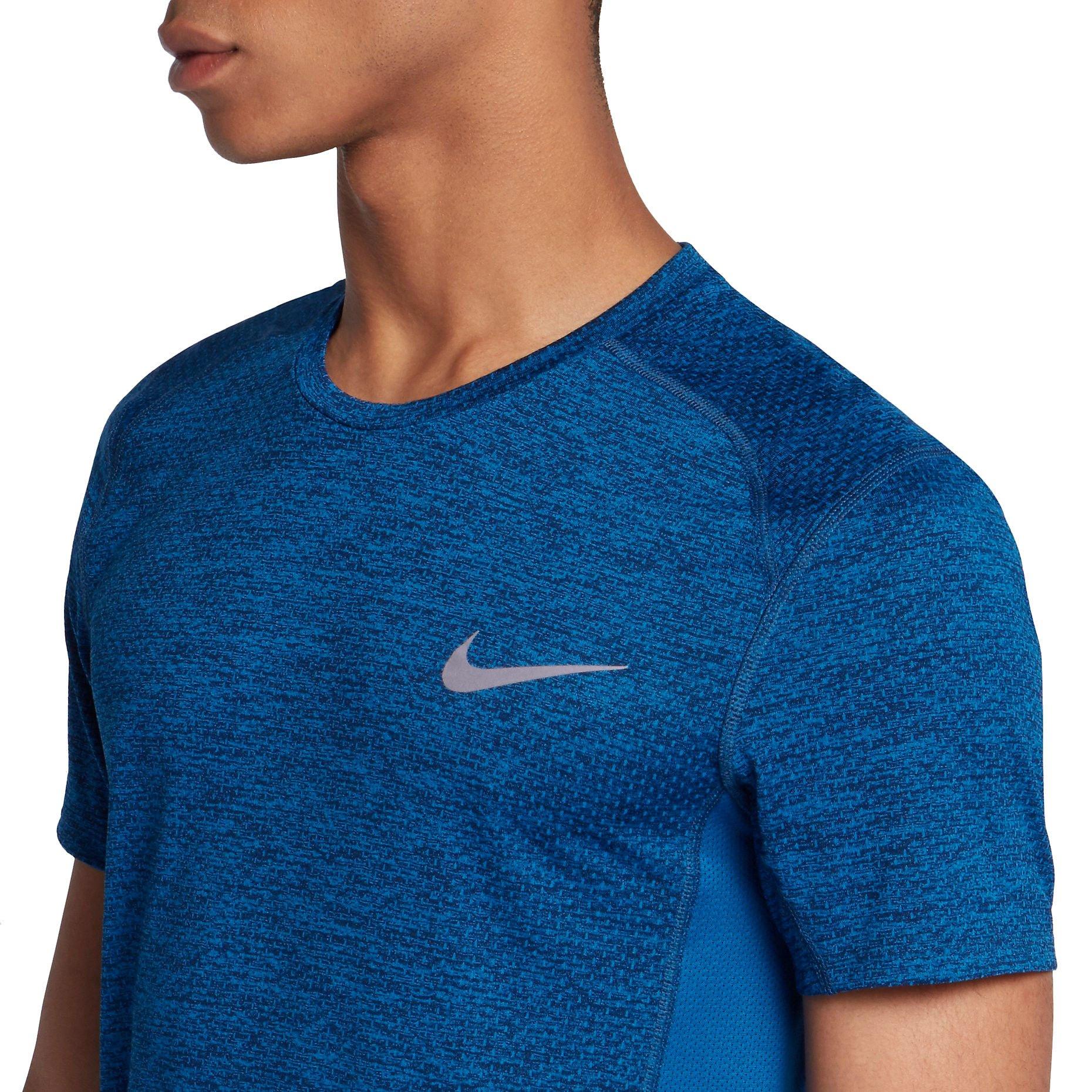T Shirt Nike M Nk Dry Miler Top Ss Cool