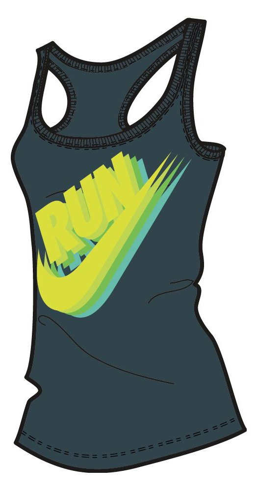 Tílko Nike RUN P W CORE BRAND TANK