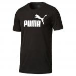 Triko Puma ESS No.1 Tee Cotton Black