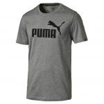 Triko Puma ESS No.1 Tee Medium Gray Heather