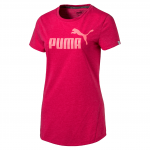 Triko Puma ESS No.1 Tee Heather W Love Potion