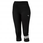Kalhoty 3/4 Puma ESS 3 4 No.1 Leggings W Cotton Black