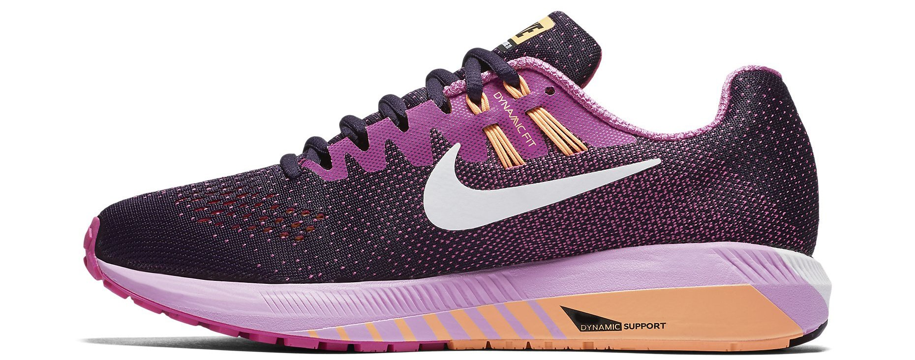 running shoes nike wmns air zoom structure 20. Black Bedroom Furniture Sets. Home Design Ideas