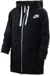 Mikina s kapucí Nike W NSW GYM CLC HOODIE FZ