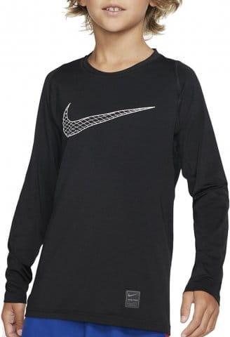 Langarm-T-Shirt Nike B NP TOP LS FTTD