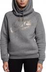Mikina s kapucí Nike W NSW RALLY HOODIE METALIC