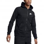 Mikina s kapucí Nike M NSW HOODIE FZ AV15 KNIT