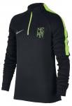 Triko s dlouhým rukávem Nike NYR Y NK SQD DRIL TOP