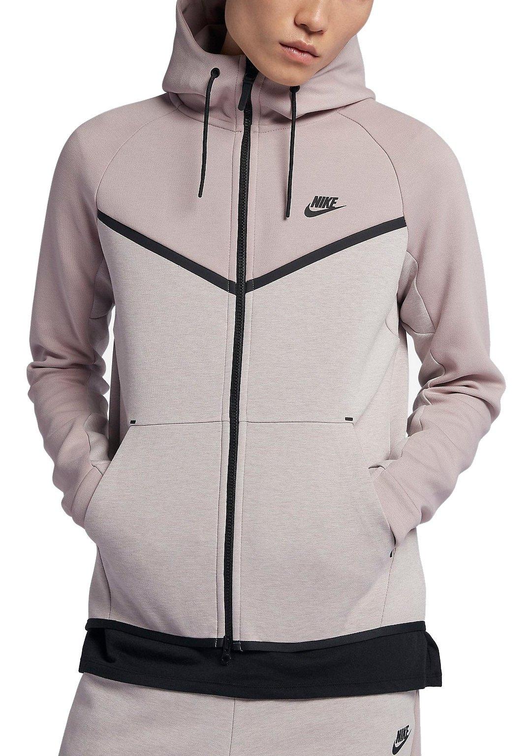 Vacilar Caliza telar  Hooded sweatshirt Nike M NSW TCH FLC WR HOODIE FZ CB - Top4Fitness.com