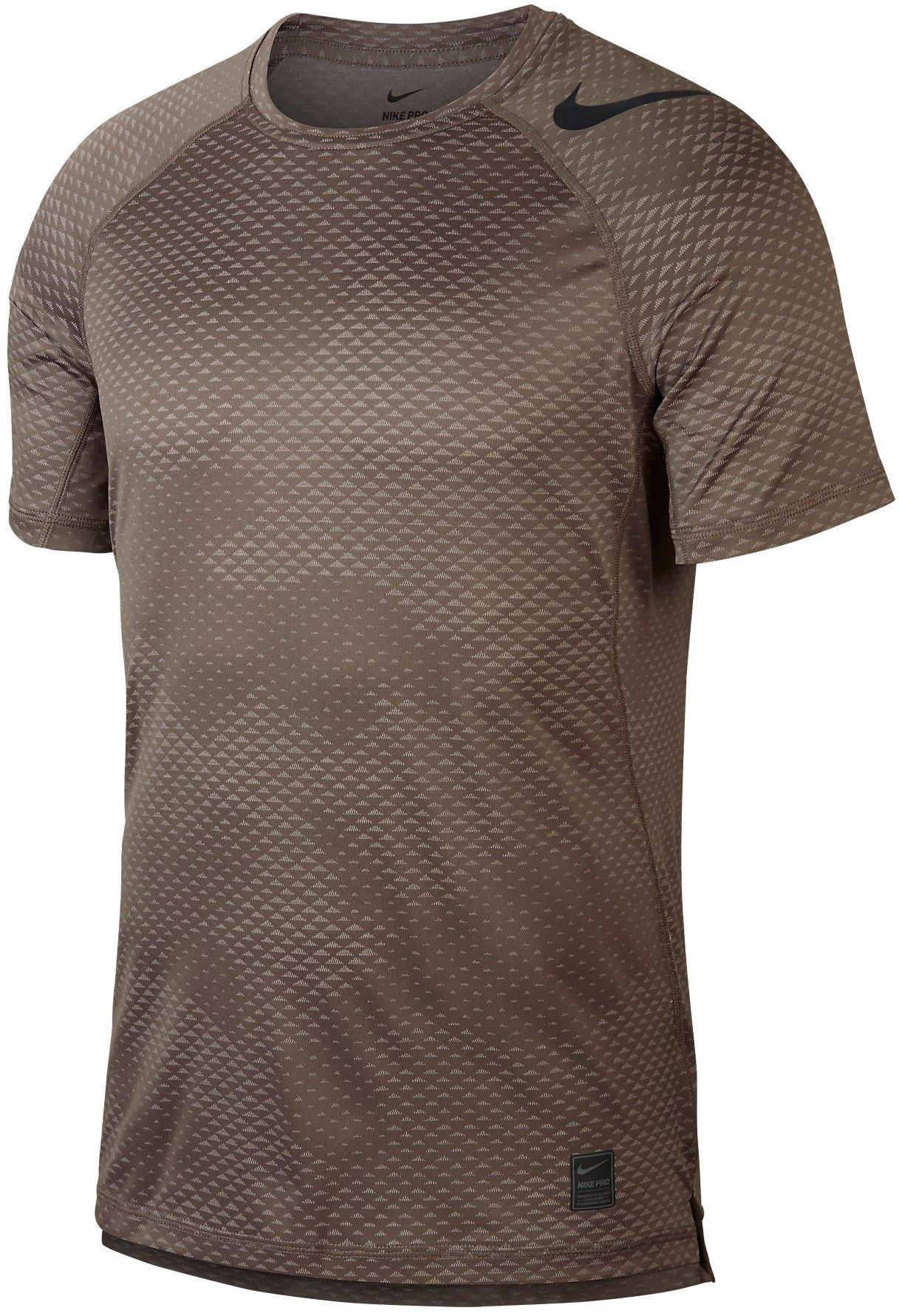 90bbc411f015 Tričko Nike M NP HPRCL TOP SS FTTD CAMO