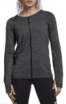W NP HPRCL TOP LS HEATHER