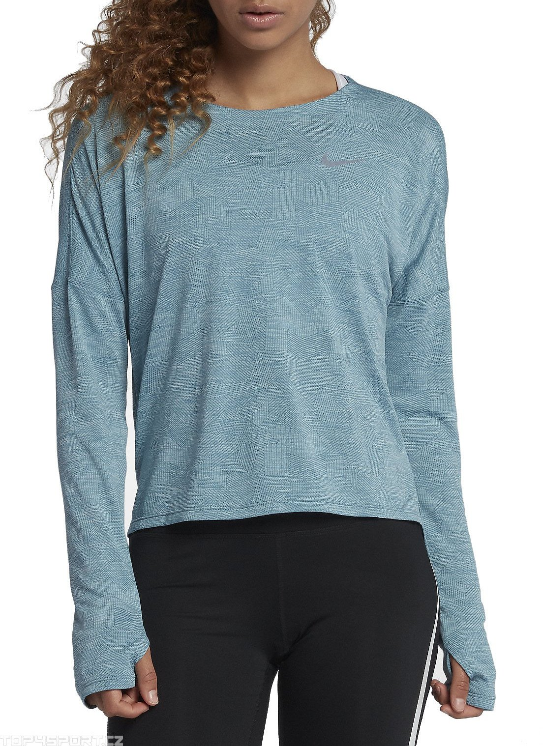 Long-sleeve T-shirt Nike W NK DRY
