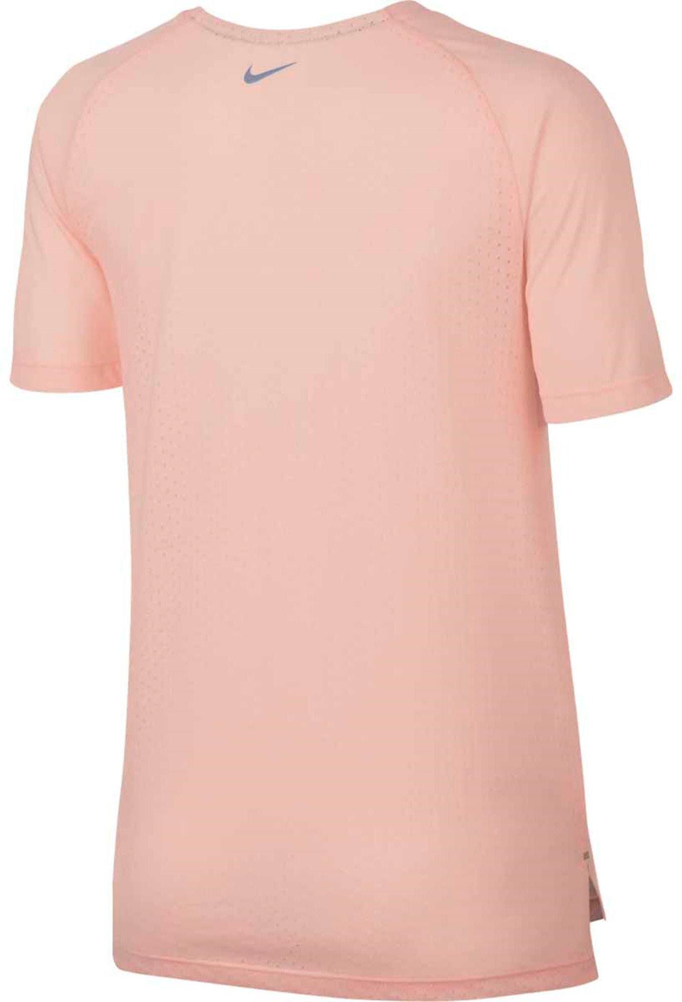 T shirt Nike W NK BRTHE TAILWIND TOP SS