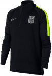 Triko s dlouhým rukávem Nike NYR B NK DRY SQD DRIL TOP
