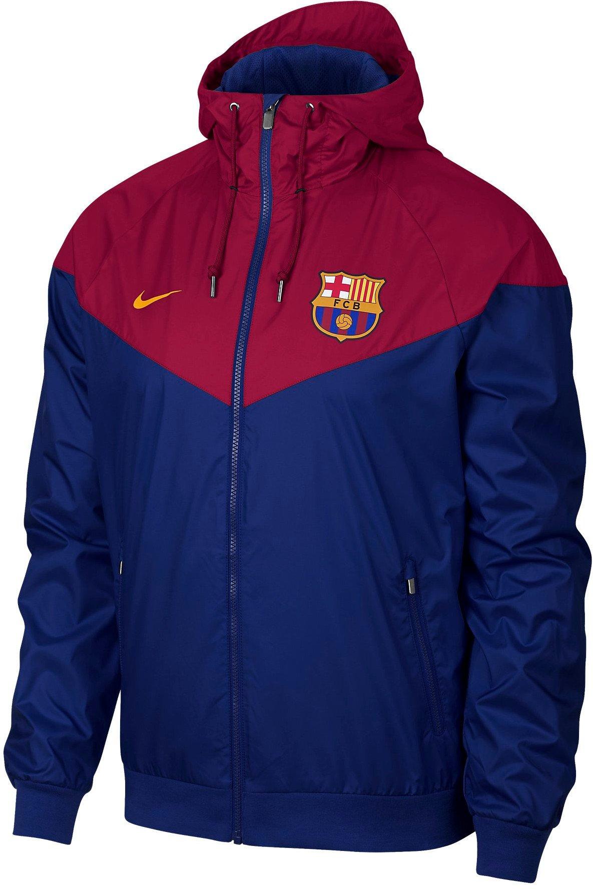 Pánská bunda s kapucí Nike FC Barcelona Windrunner Authentic 5ce5fce1d43