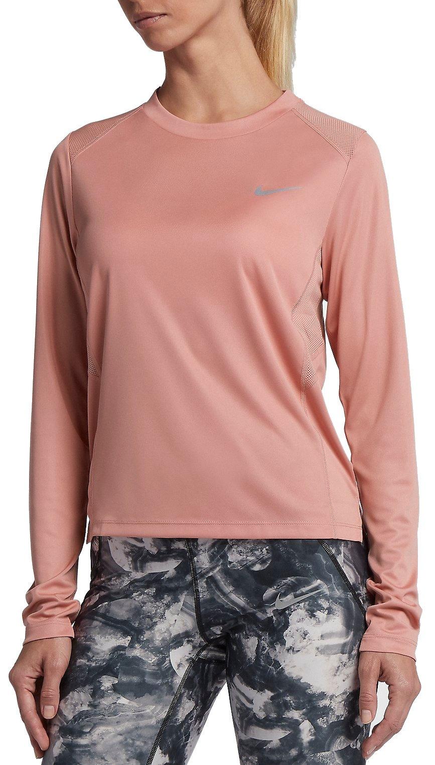 Long sleeve T shirt Nike W NK MILER TOP LS