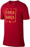 fc barcelona tee Forza Barca