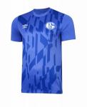 Schalke 04 2019-2020 Warm Up Shirt