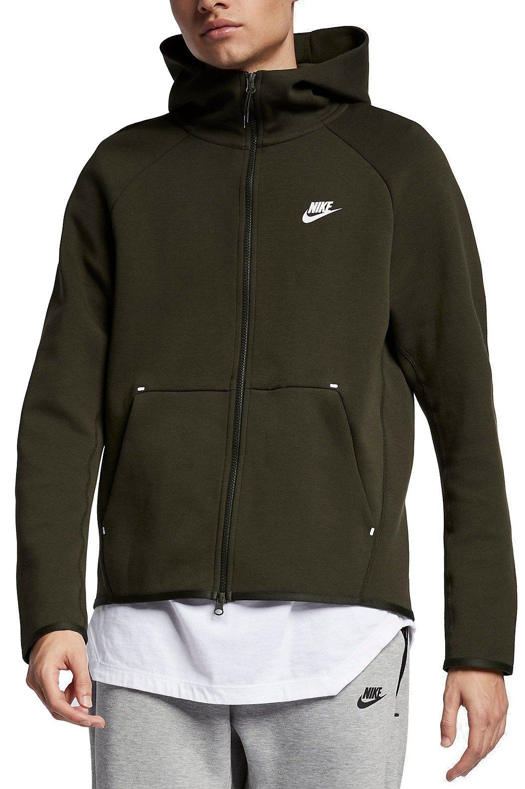 Nike M NSW TCH FLC HOODIE FZ Kapucnis melegítő felsők
