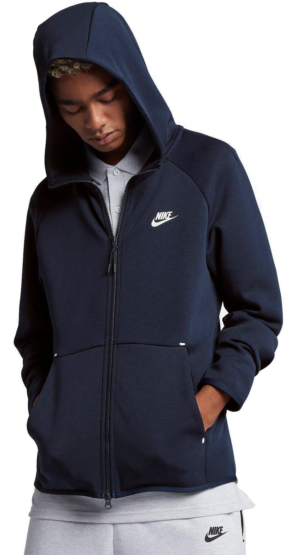 Hooded sweatshirt Nike M NSW TCH FLC HOODIE FZ
