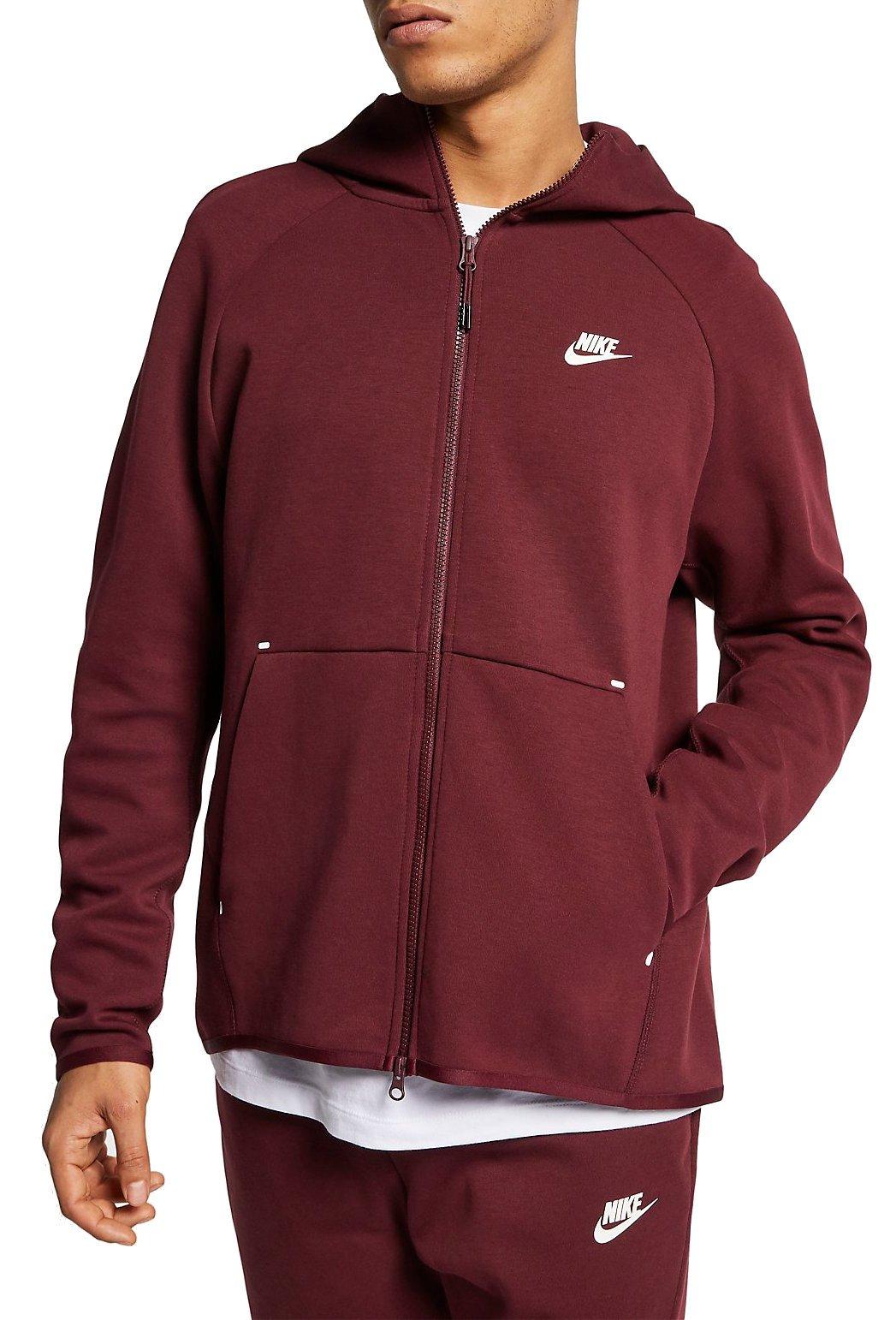 Sudadera con capucha Nike M NSW TCH FLC HOODIE FZ