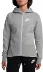 Mikina s kapucňou Nike W NSW TCH FLC WR HOODIE FZ