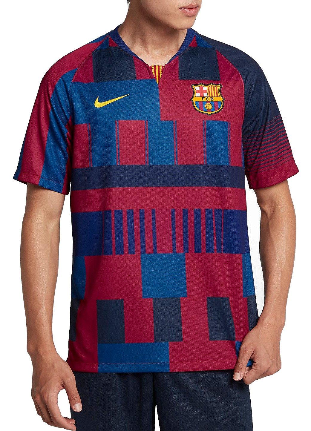 Replika pánského fotbalového dresu Nike FC Barcelona 2018/19