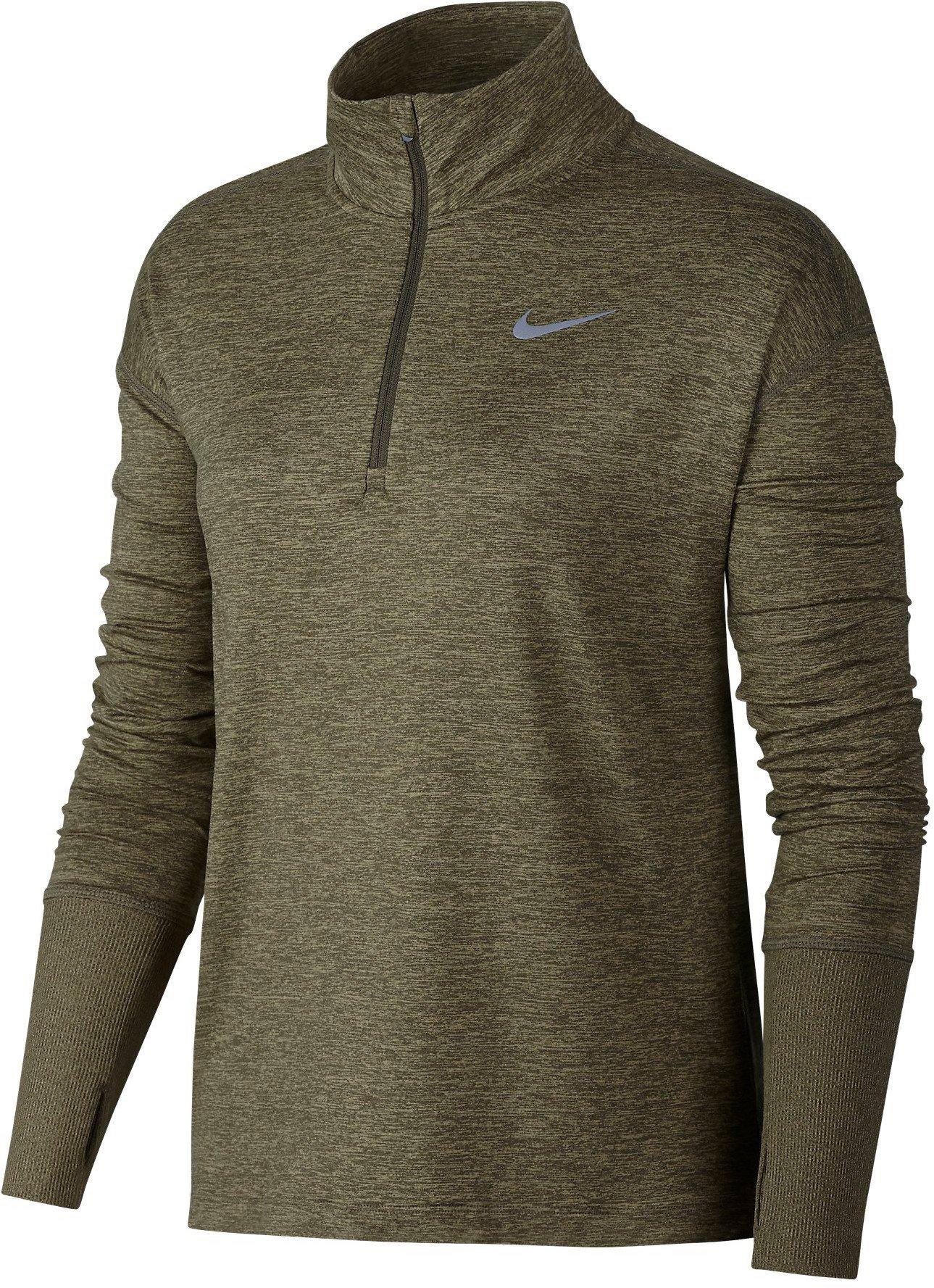 Dámský běžecký top s polovičním zipem Nike