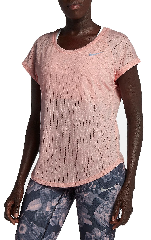 95510b2b T-shirt Nike W NK TAILWIND TOP SS COOL LX