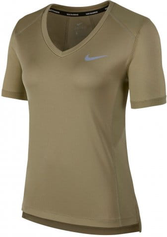 Triko Nike W NK MILER TOP VNECK