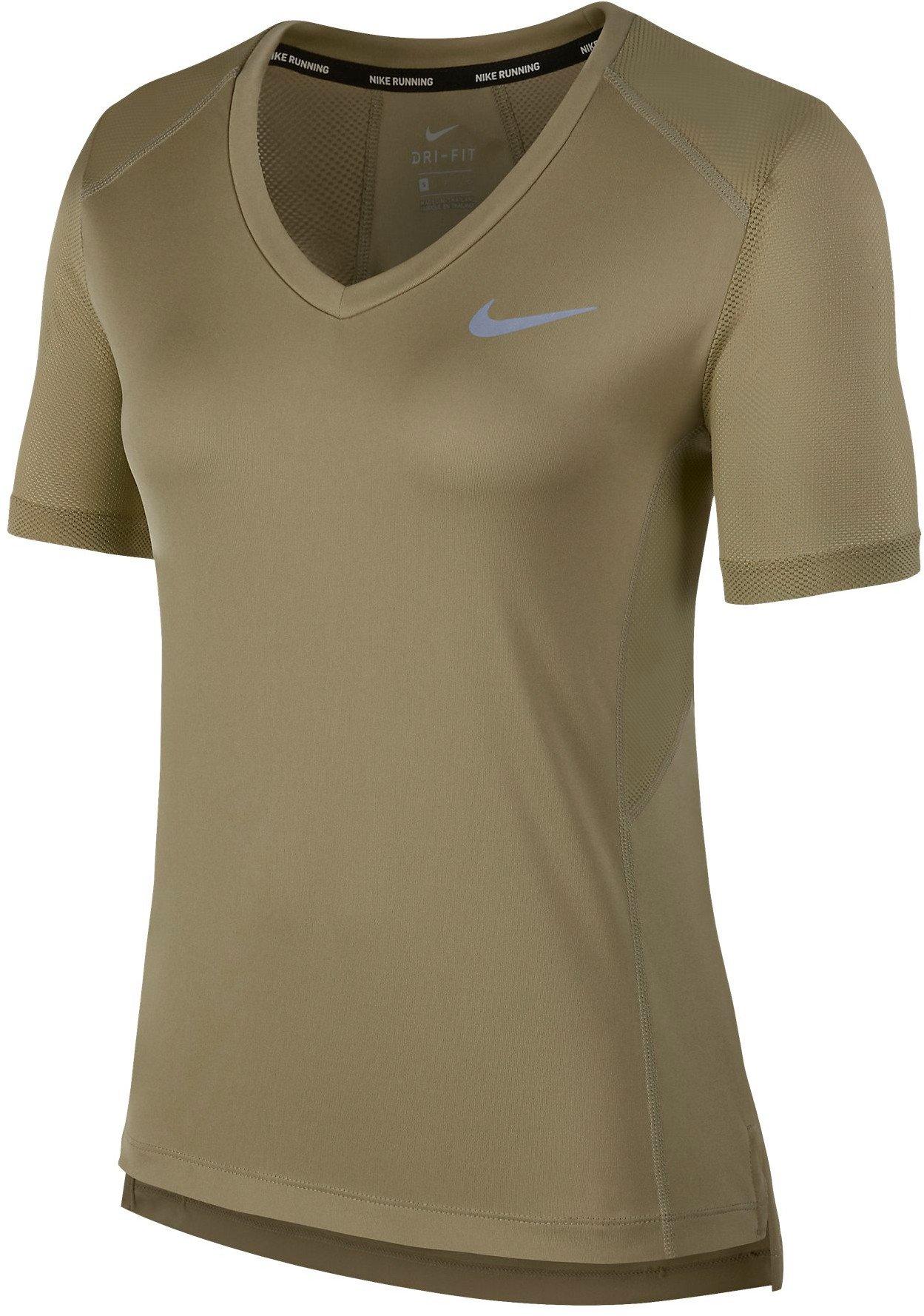 Dámské běžecké triko s krátkým rukávem Nike Miler V
