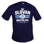 ŠK Slovan Bratislava tričko - tm.modré