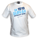 ŠK Slovan Bratislava tričko - biele