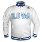 Mikina s kapucí Topforsport ŠK Slovan Bratislava - biela