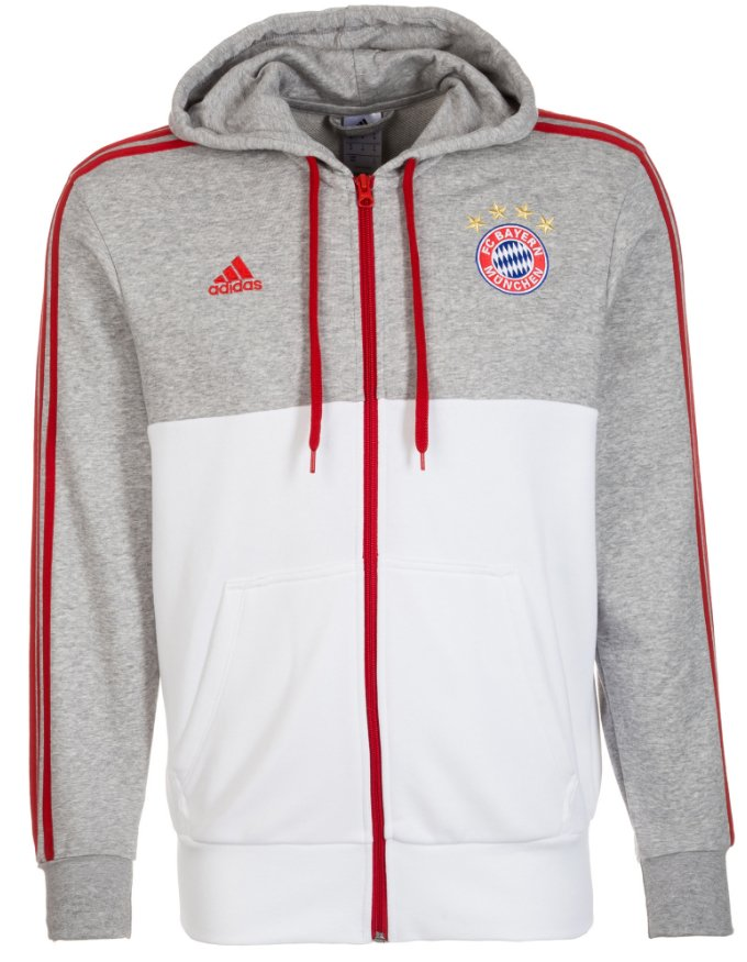 Mikina s kapucí adidas FC Bayern 3S