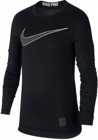 Langarm-T-Shirt Nike B NP TOP LS COMP HO18 2