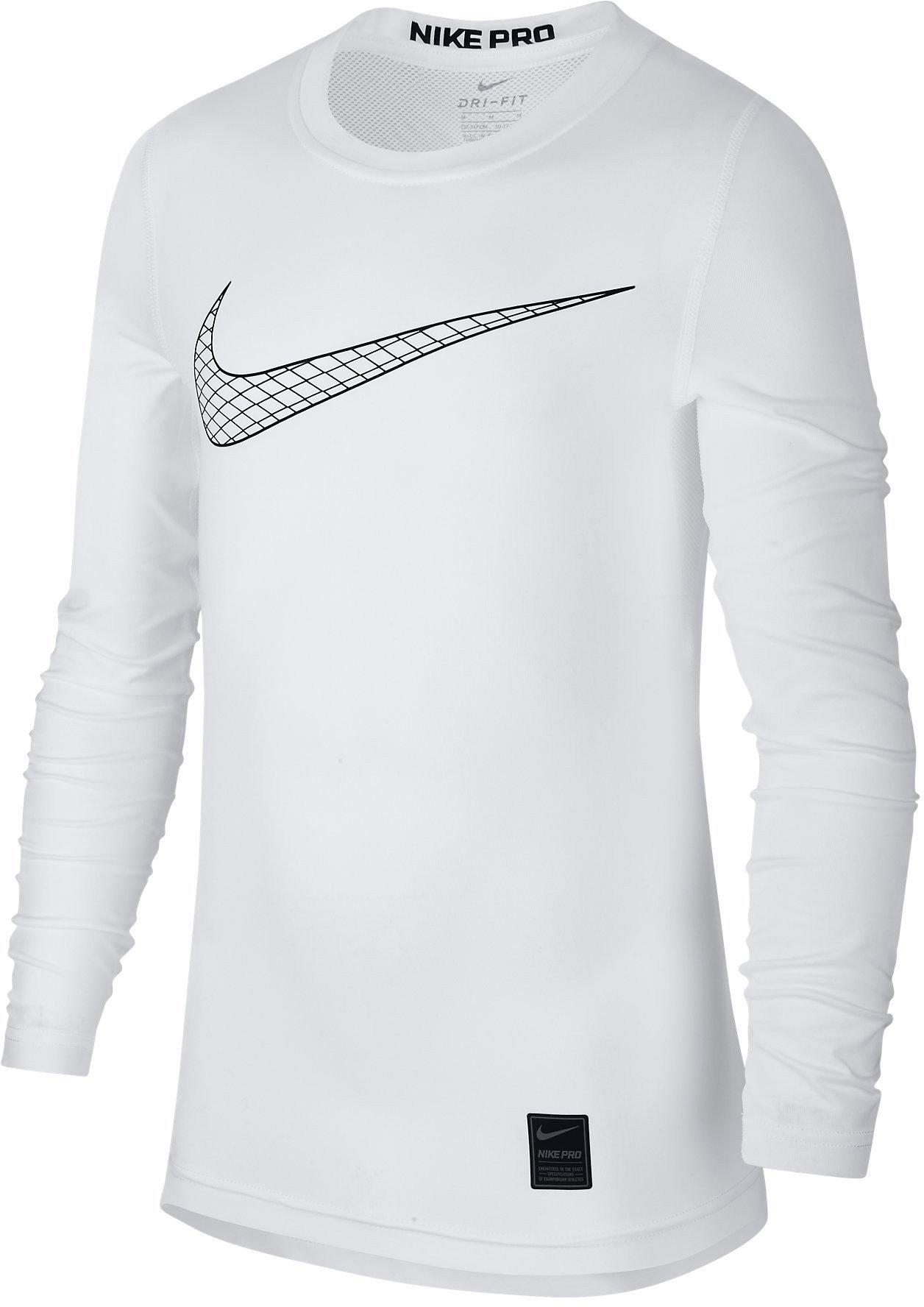 volatilidad Tratado Peregrino  Camiseta de manga larga Nike B NP TOP LS COMP HO18 2 - Top4Fitness.es