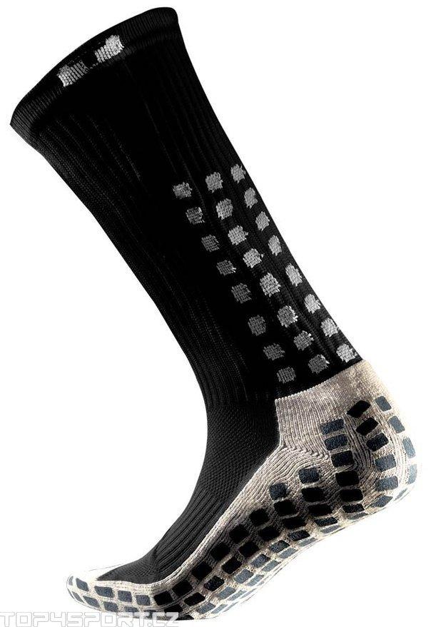 Ponožky Trusox CRW300 Mid-Calf Thin Black