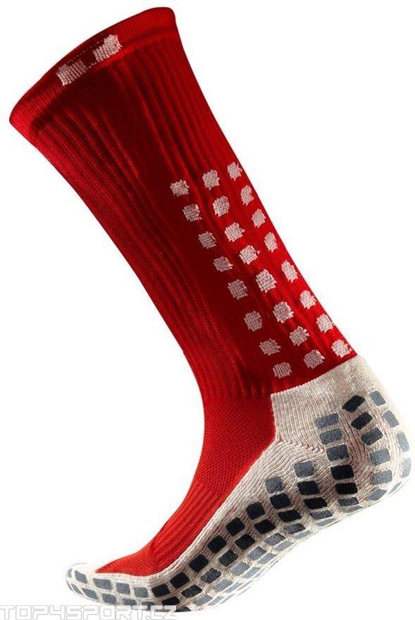 Ponožky Trusox CRW300 Mid-Calf Thin Red