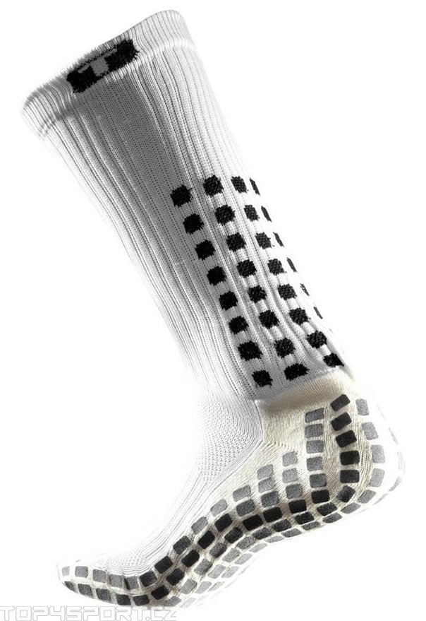 Ponožky Trusox CRW300 Mid-Calf Thin White