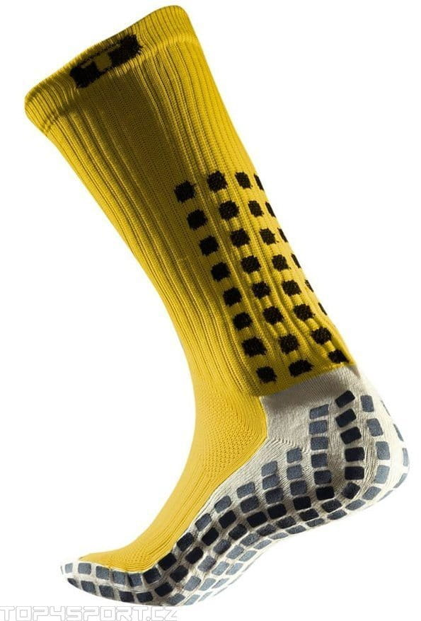 Sosete Trusox CRW300 Mid-Calf Thin Yellow