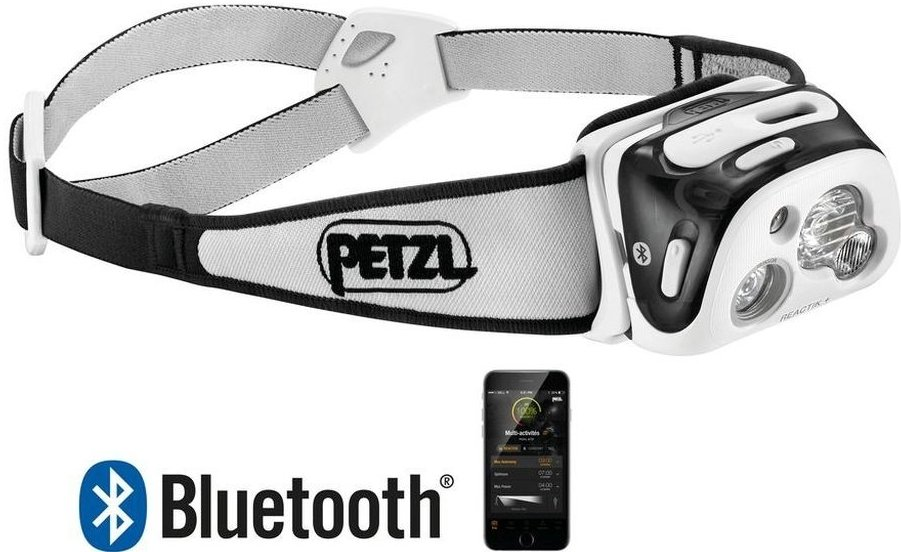 Čelovka Petzl E95 Reactik+ Bluetooth