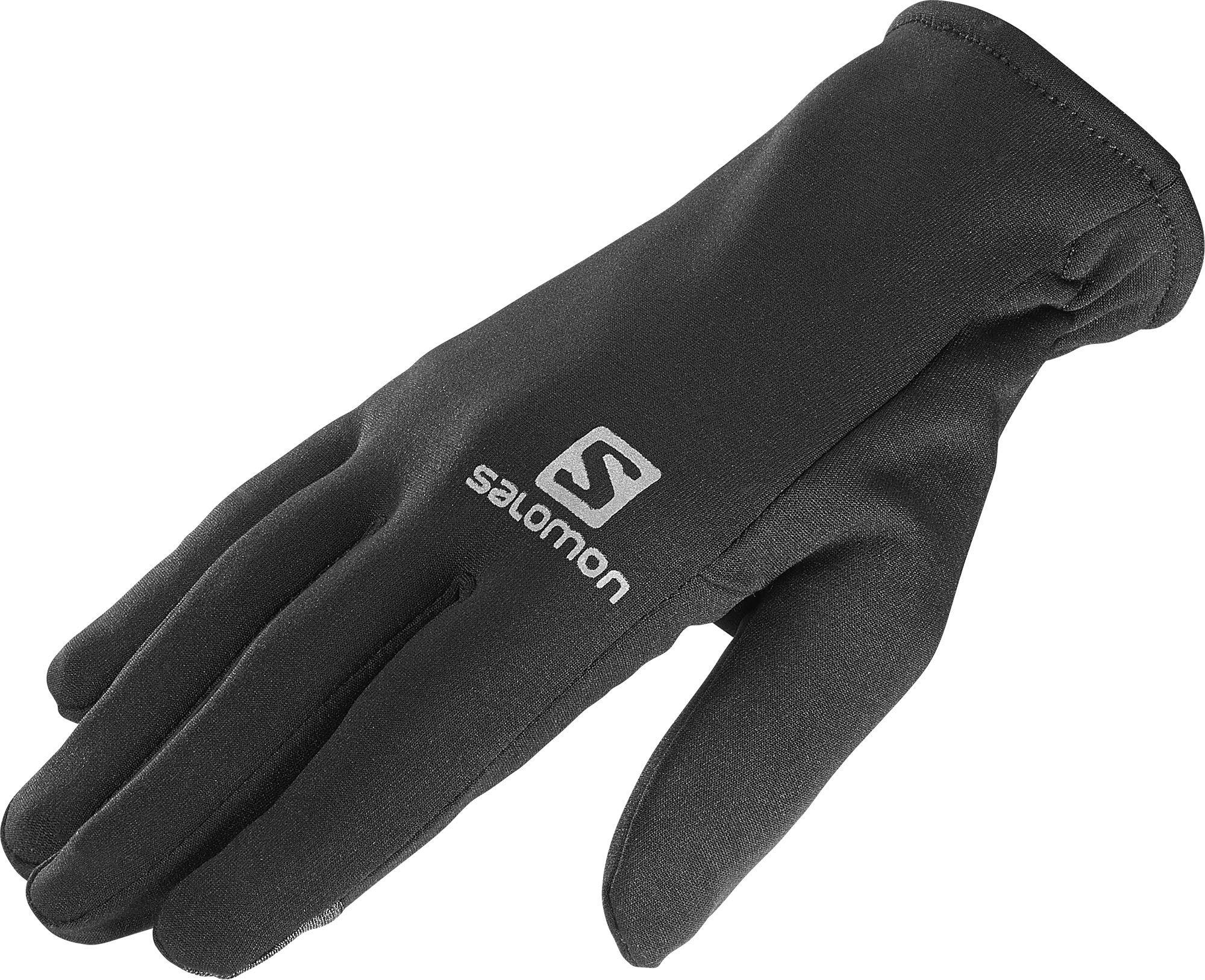 Běžecké rukavice Salomon Running Fleece
