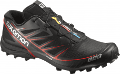 S-LAB SPEED BLACK/BLACK/RACING RED