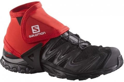 TRAIL GAITERS LOW BRIGHT RED