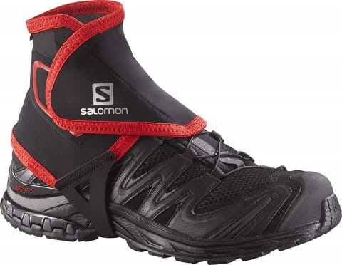Jambiere fitness Salomon TRAIL GAITERS HIGH BLACK