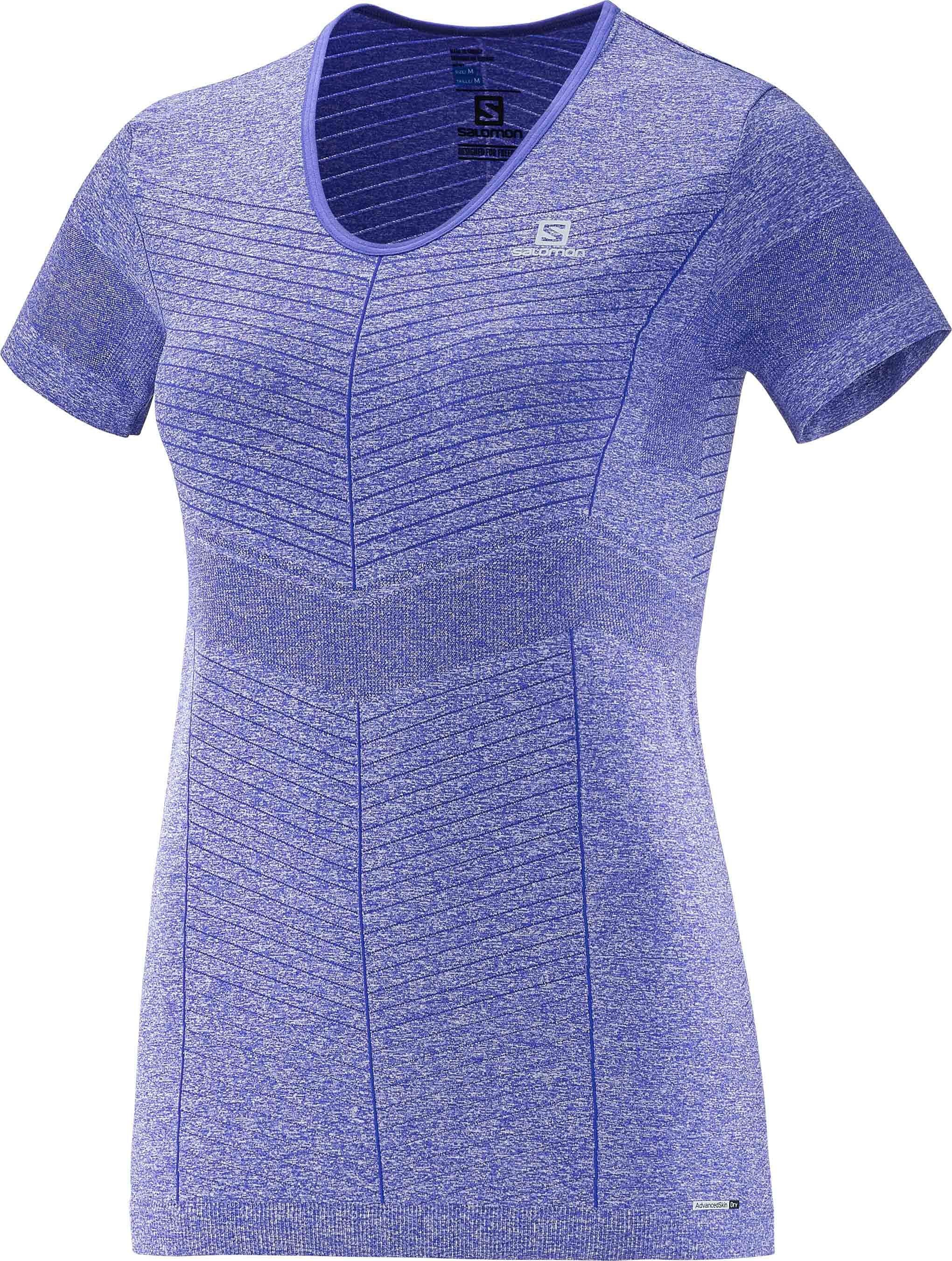 Běžecké tričko s krátkým rukávem Salomon Elevate Seamless