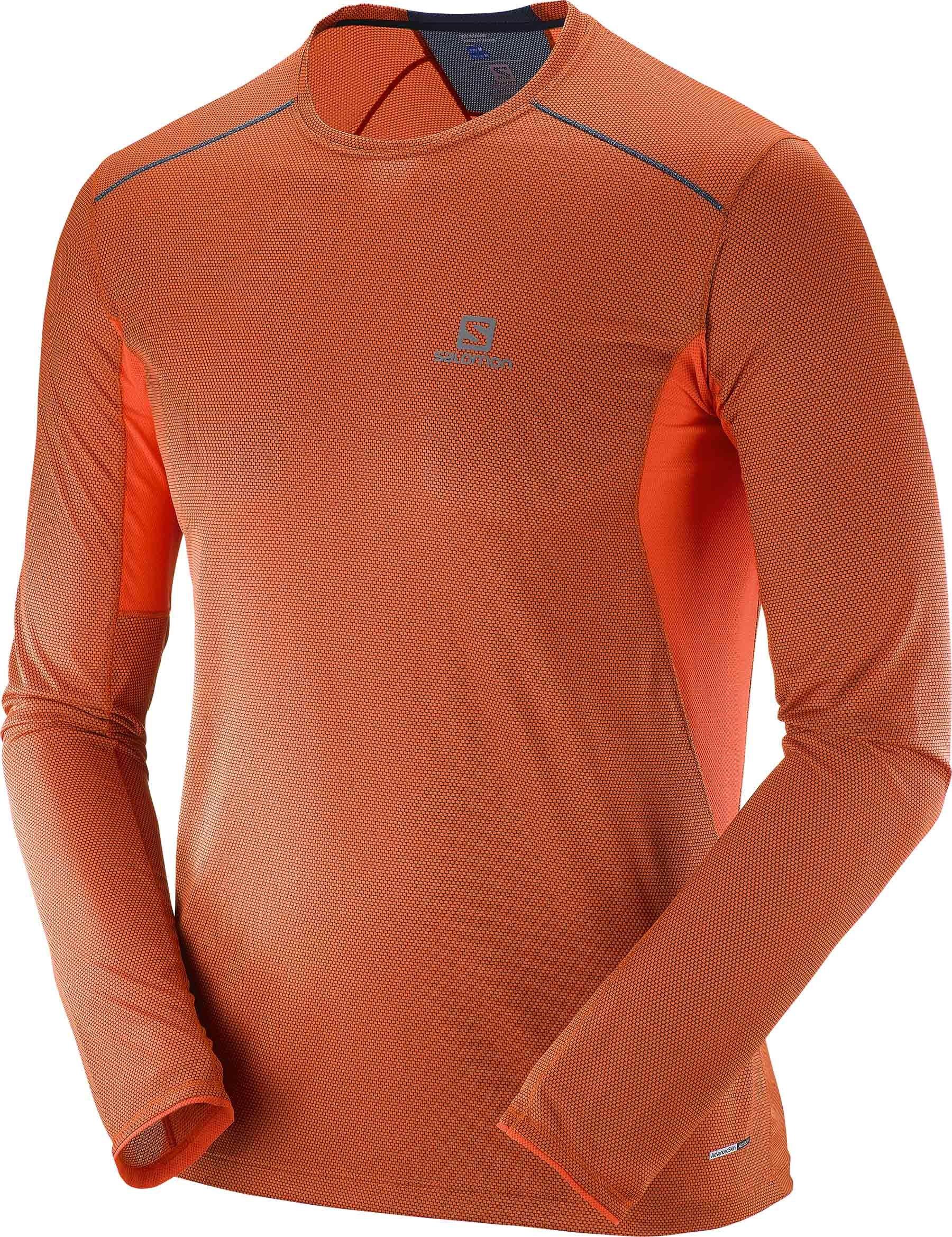 Běžecké triko s dlouhým rukávem Salomon Trail Runner